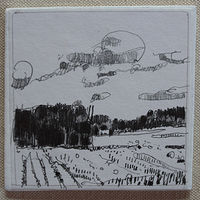 Drawing Open Field by Harry Stooshinoff