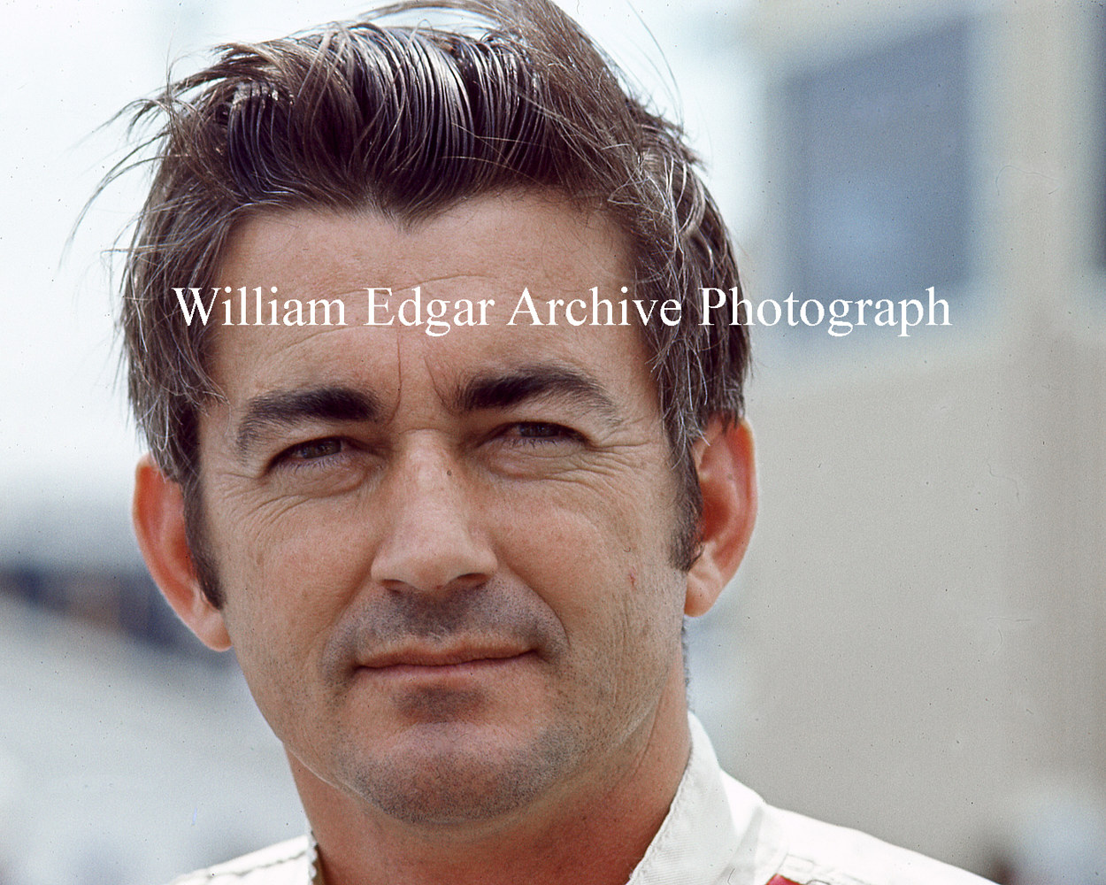 Photography [RI-BAPAD] Bobby Allison at NASCAR Rebel 400 - Darlington Raceway, South Carolina - May 2, 1971 by William Edgar