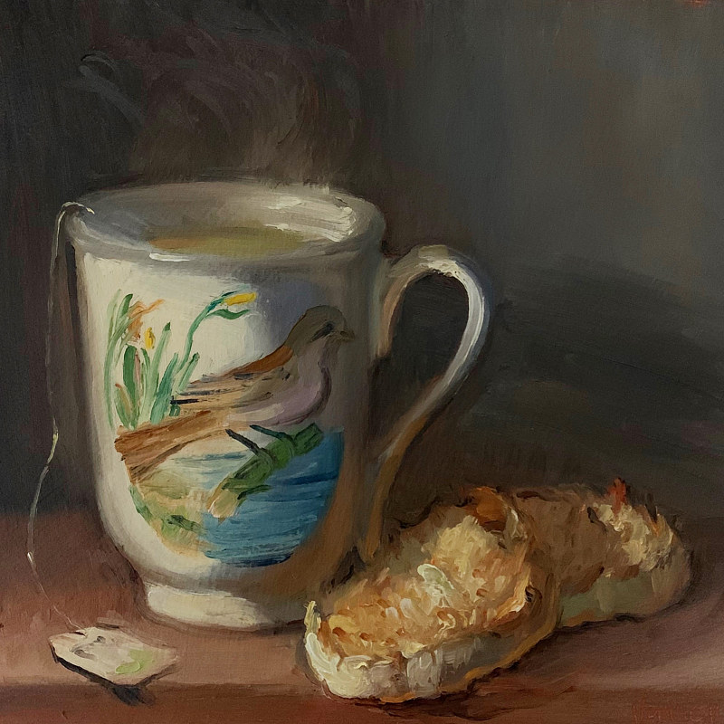 """Crumpets & Tea in Birds of Britain"" by Noah Verrier"