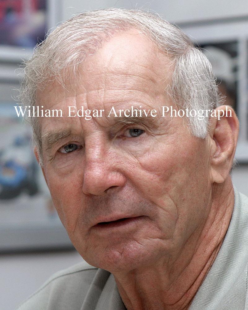 Photography [RI-PJP73] Parnelli Jones in his office at age 73 - September 2006 by William Edgar