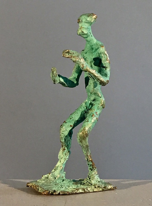 Tai Chi Figure; Moving Sphere by Jonathan  Hertzel