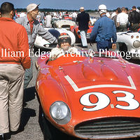 Photography [JM-BM857] Jack McAfee - John Edgar's Ferrari 857 Sport - Beverly, Massachusetts - July 7, 1956 by William Edgar