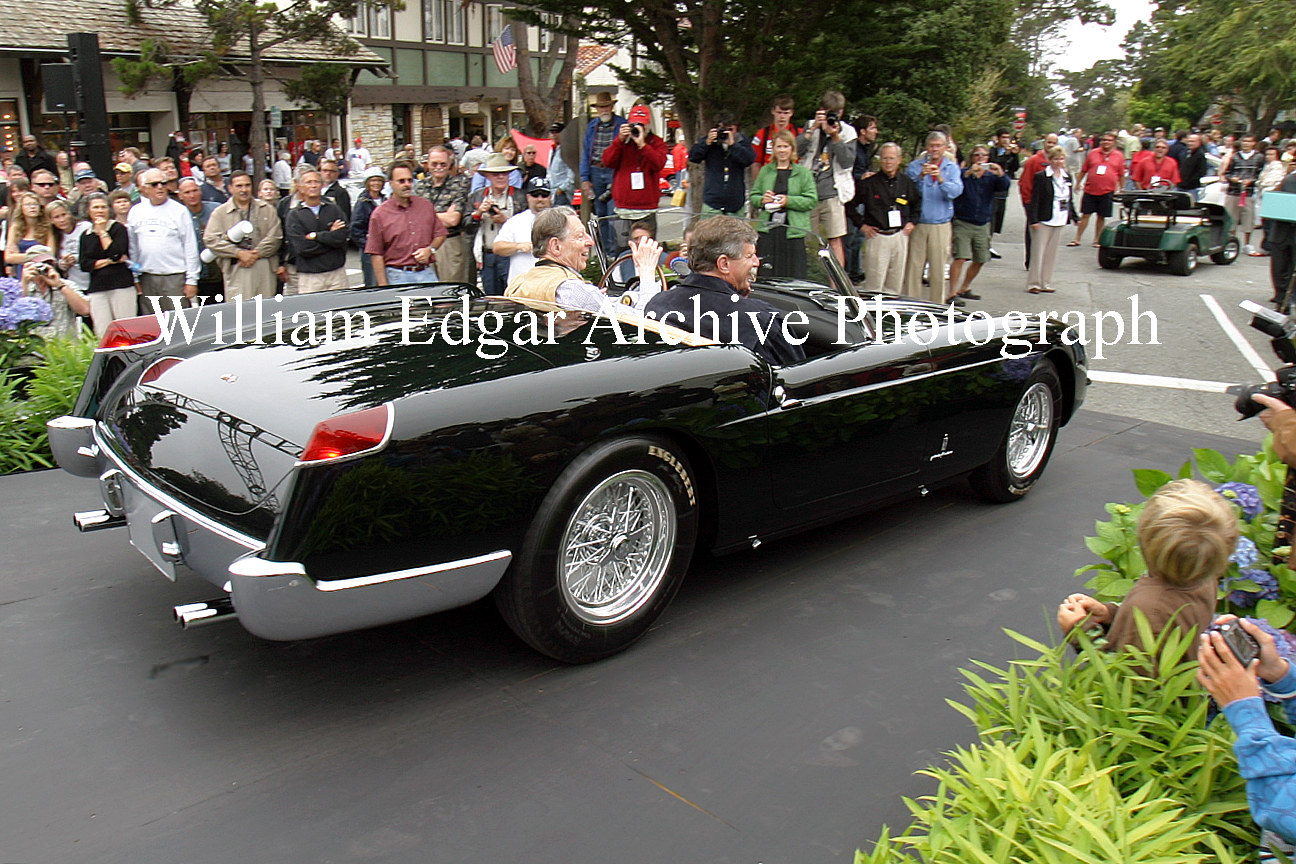 Photography [CC-RLFWC] Robert Lee's Concours on the Avenue Best of Show winning 1956 Ferrari 250 GT Series 1 Cabriolet - August 12, 2008 by William Edgar