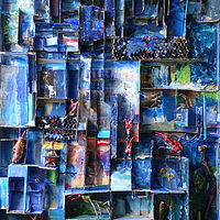 Painting Blues by Boudewijn Korsmit