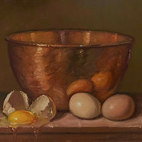 """Eggs & Copper Bowl"" by Noah Verrier"