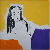 Acrylic painting Untitled 7 by Tom O'rourke