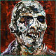 Oil painting Zombi 2 by Angelo Mariano