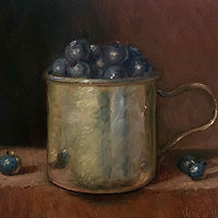 """Blueberries in Silver"" by Noah Verrier"