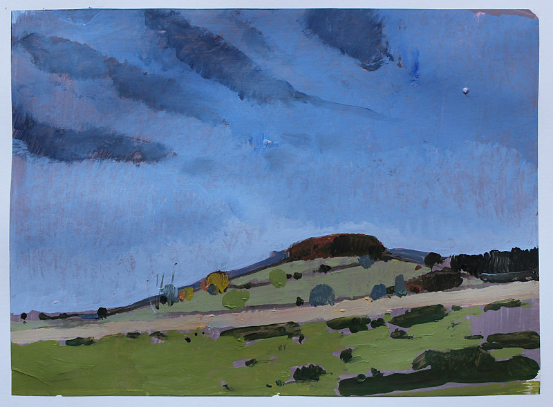 Painting East Hill, October 28  by Harry Stooshinoff