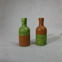 Acrylic painting Bottles by Graham Hall