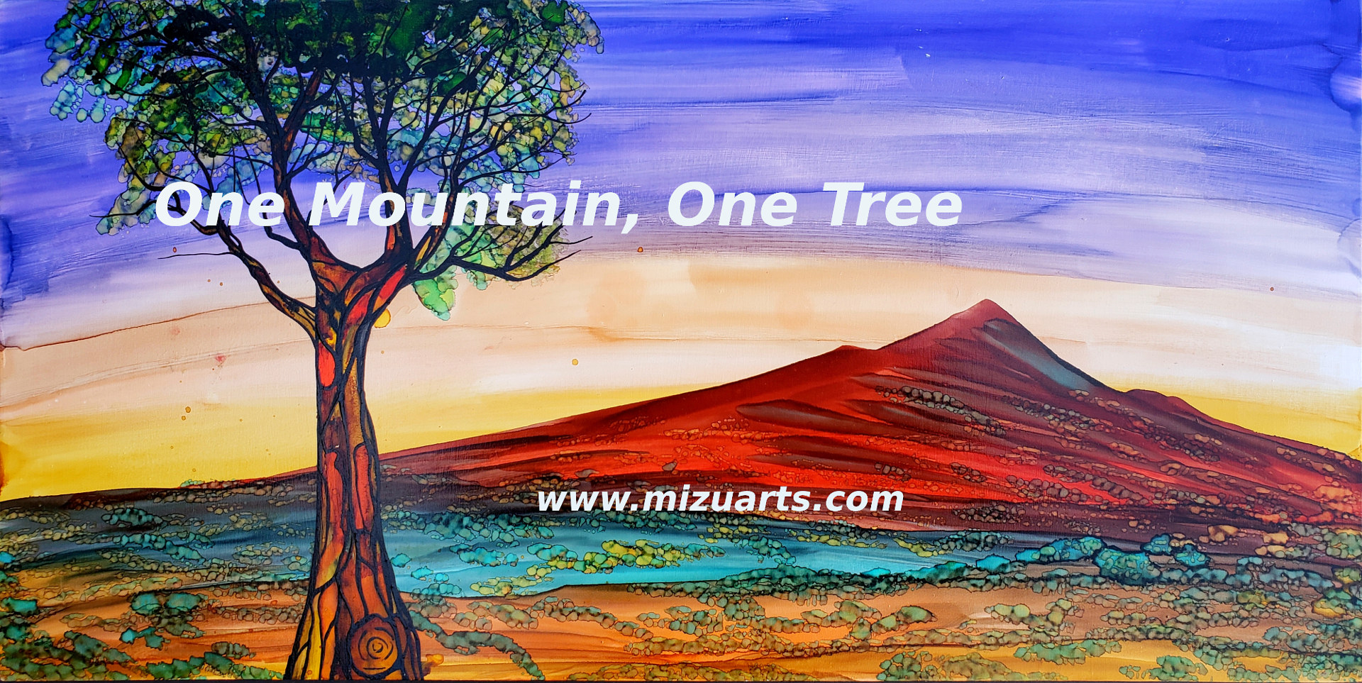 One Mountain One Tree  by Isaac Carpenter