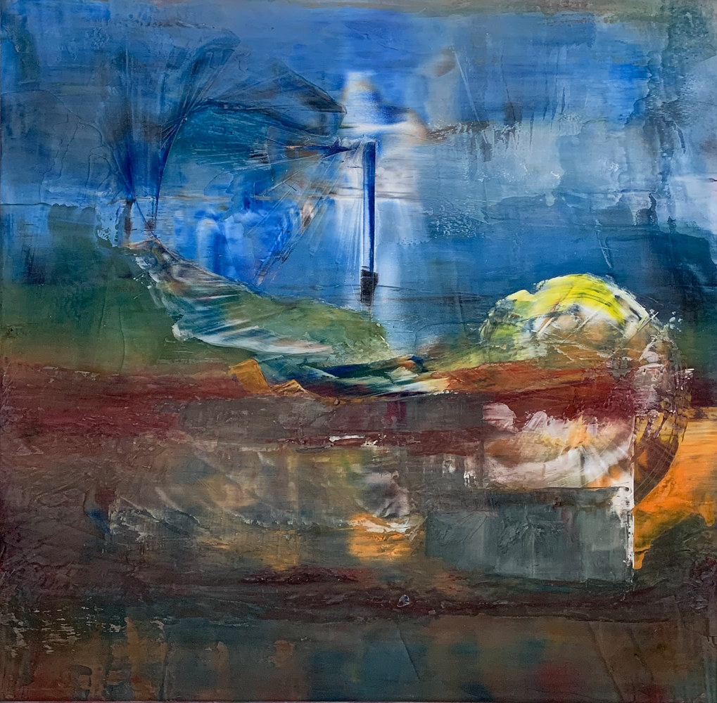 "Set in Emotion ~ 48""x 48"" ~ $3,000 by Paul Catalanotto"