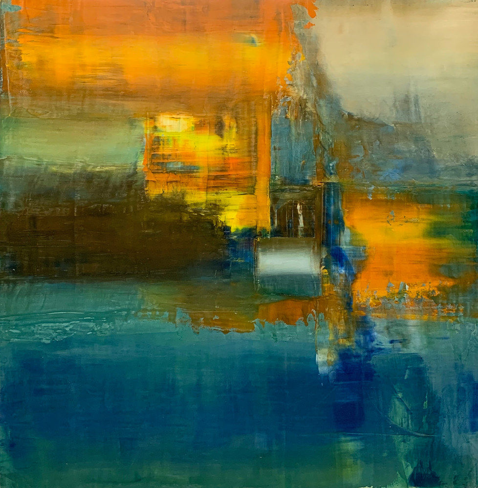 "Flare Up ~ 48""x 48"" ~ $3,000 by Paul Catalanotto"
