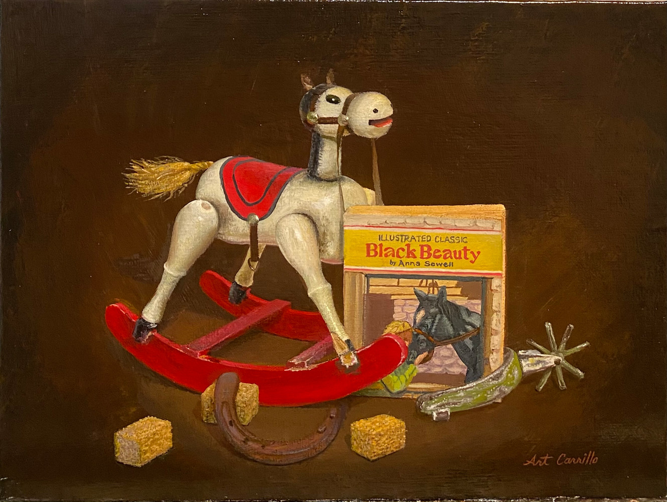 Painting Rockinghorse by Arthur Carrillo