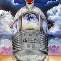 Acrylic painting Pioneer Zephyr by David Neace