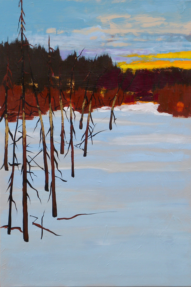 Painting True North by Gordon Sellen
