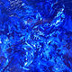 "Oil painting ""Pthalo Blue"" by Mike Salcido"