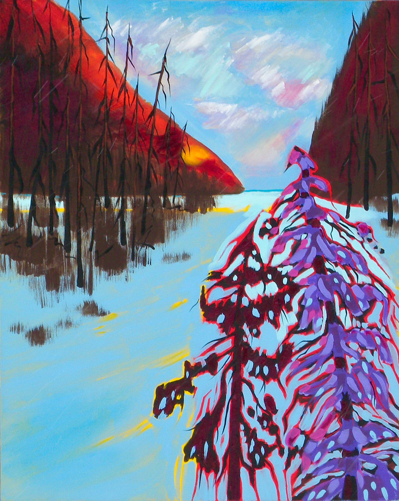 Painting True North #2 by Gordon Sellen