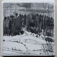 Drawing Coyote Hill, December 10  by Harry Stooshinoff