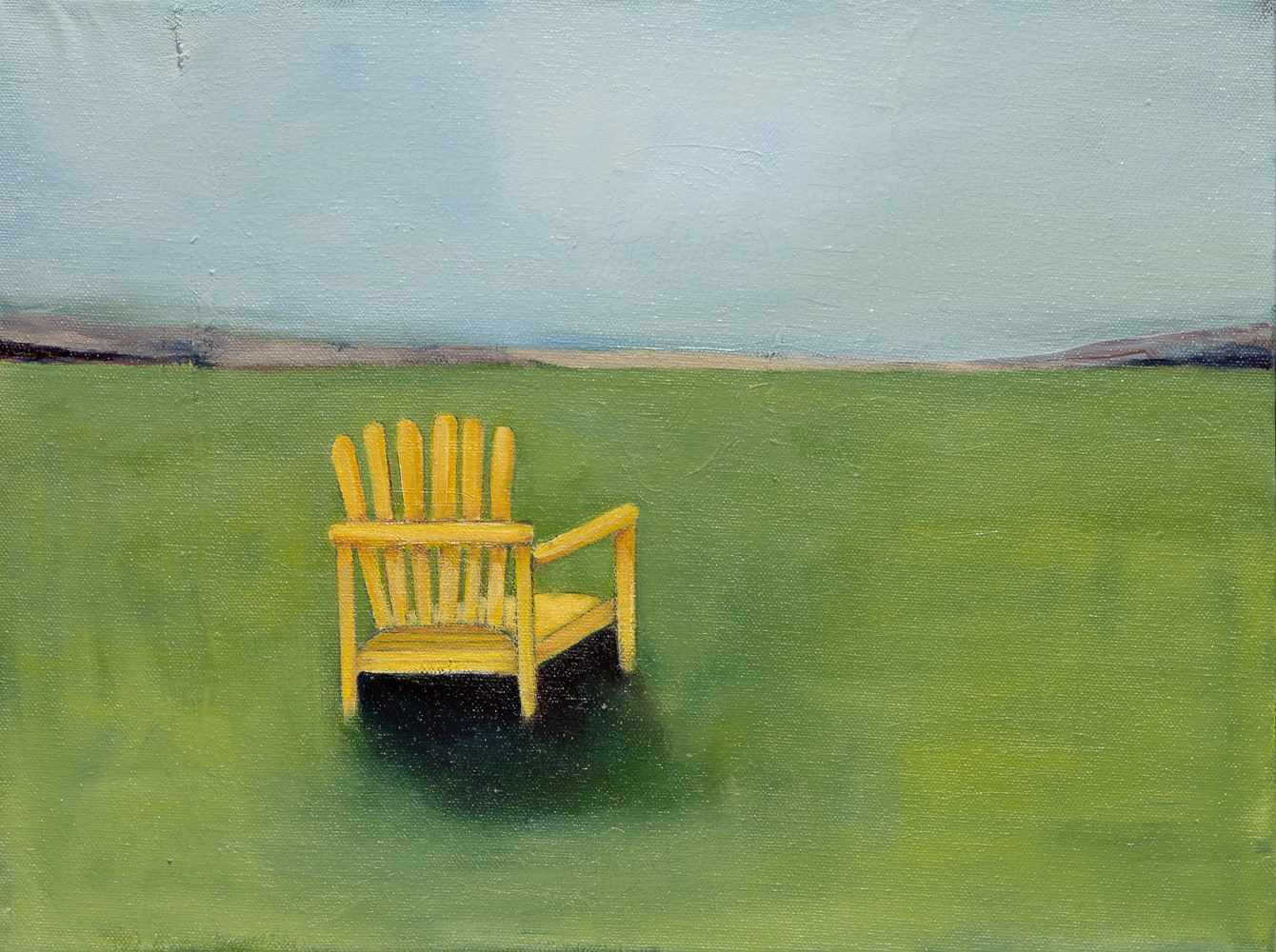 "Oil painting ""Alone"" Available For Purchase at Fogue Gallery by carol Ross"