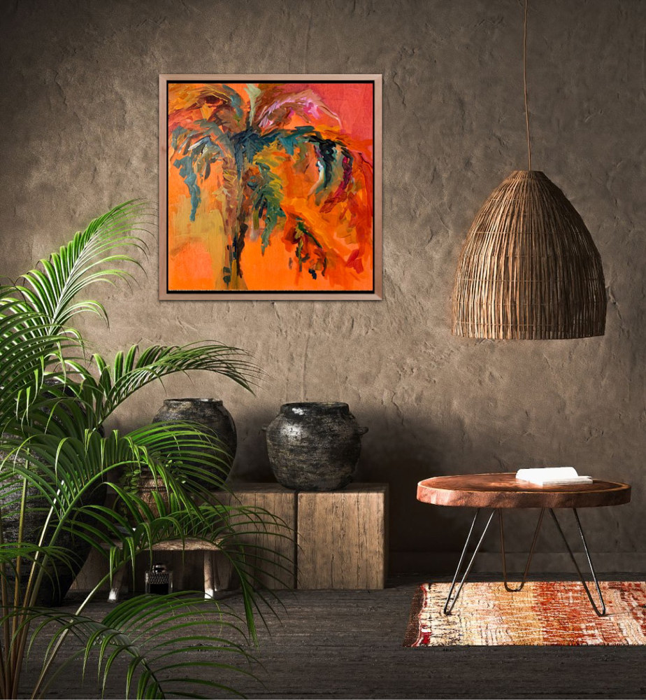 Hot Palm  (displayed) by linda richardi