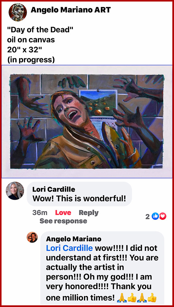 Lori Cardille (Day of the Dead, actress) by Angelo Mariano