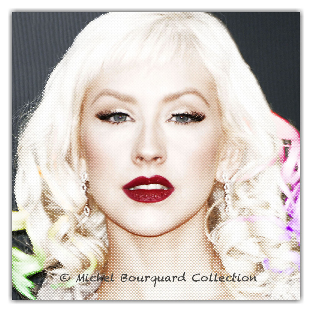 055-Christina Aguilera - the glow by Michel Bourquard