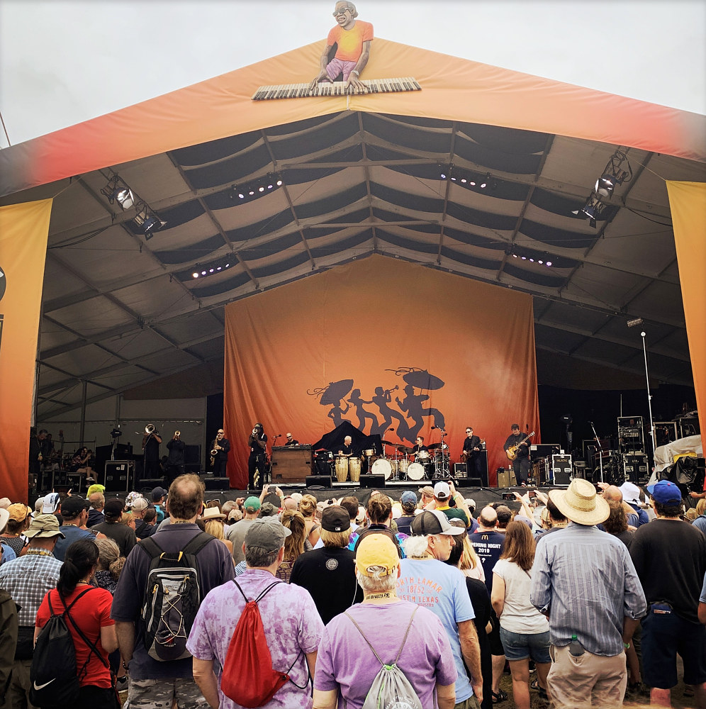 Jazz Fest - Acura Stage by Susan Raines