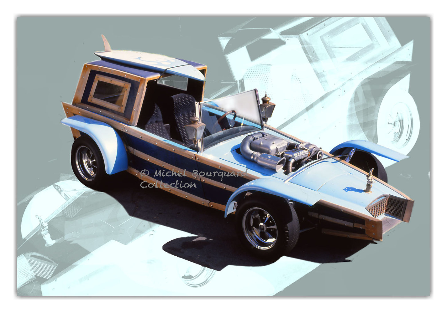 081-Car-JayOrsberg- 027-surfer car by Michel Bourquard