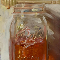 """Jar of Honey & Comb"" by Noah Verrier"