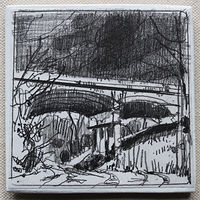 Drawing Overpass by Harry Stooshinoff