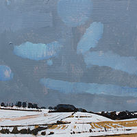 Acrylic painting January Stand, School Way  by Harry Stooshinoff