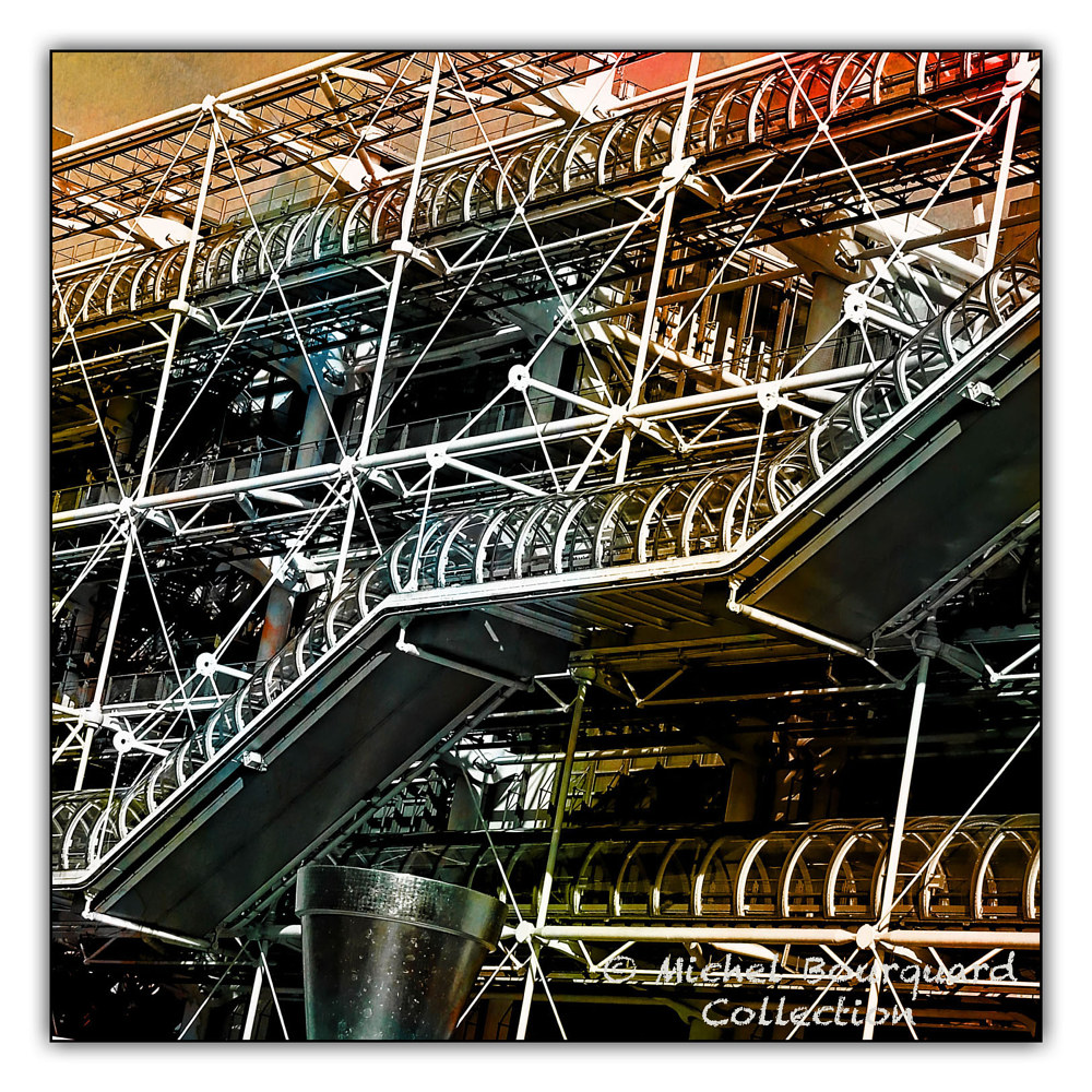 057-Paris_Beaubourg_20x20x300_pe by Michel Bourquard