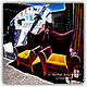 019- two chairs in Hollywood - print  by Michel Bourquard