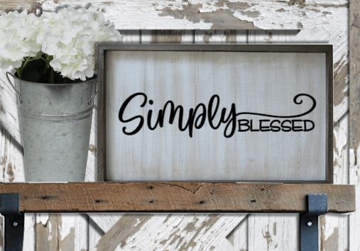 Simply Blessed by Bev Robertson
