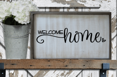 Welcome Home by Bev Robertson