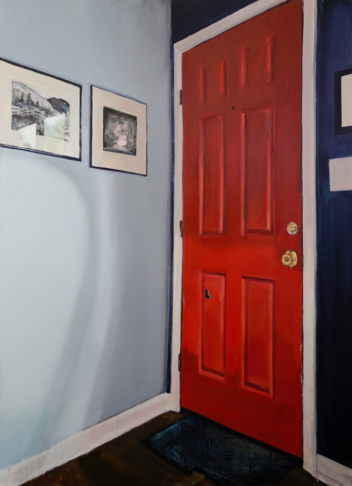 Red Door by Serena Stevens