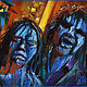 Oil painting Creepshow by Angelo Mariano