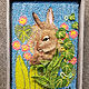 Peeping  Bunny by Valerie Johnson