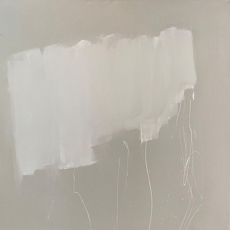 Acrylic painting Neutral No. 1 by Sarah Trundle