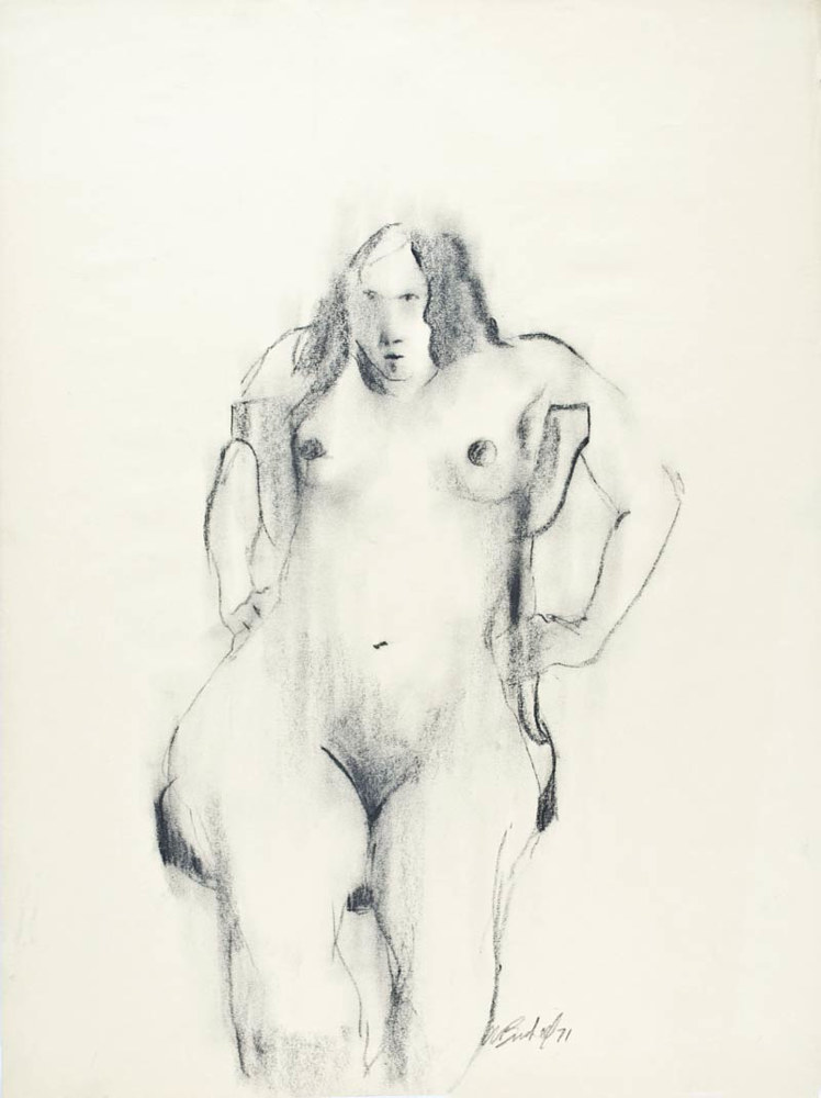 Seated-Nude-2 by Will Bushell