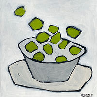 Acrylic painting Limes by Sarah Trundle