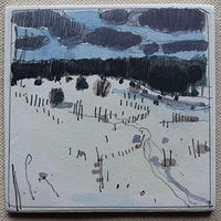 Drawing Back Acres, February 18  by Harry Stooshinoff