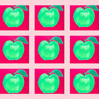 Little Green Apples  by Kelly Schafer