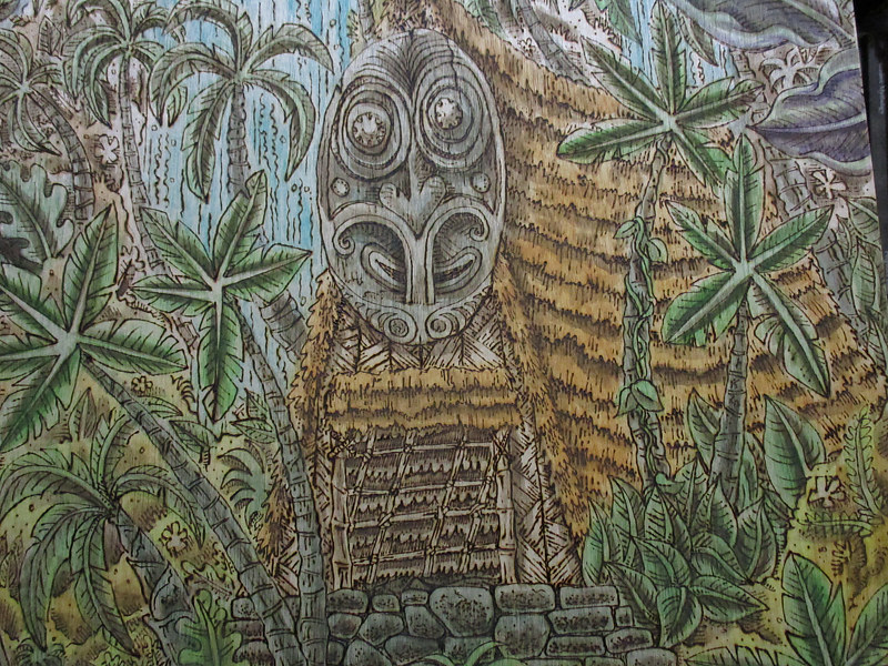 """The Abandoned Oasis"" detail by Kenneth M Ruzic"