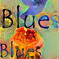 Print The Blues by Patrick Harris