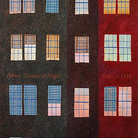 Drawing Alban Towers at Nite by Patricia Autenrieth