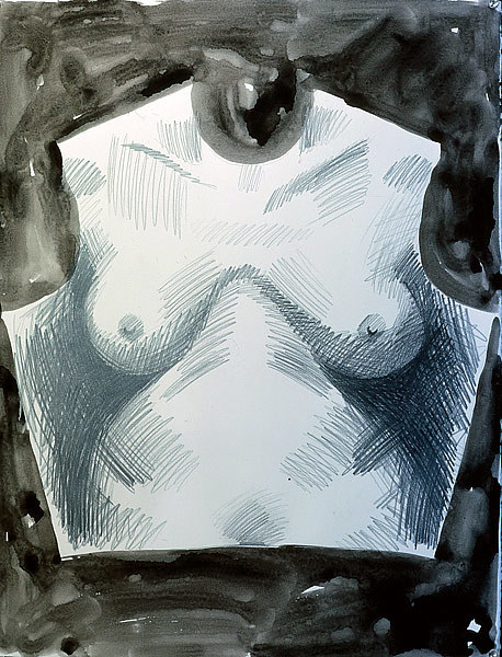 Drawing Breastplate by Patricia Autenrieth