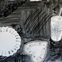 Drawing Carry-out Still Life by Patricia Autenrieth