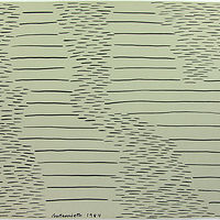 Drawing Horizontal stripes and dashes by Patricia Autenrieth